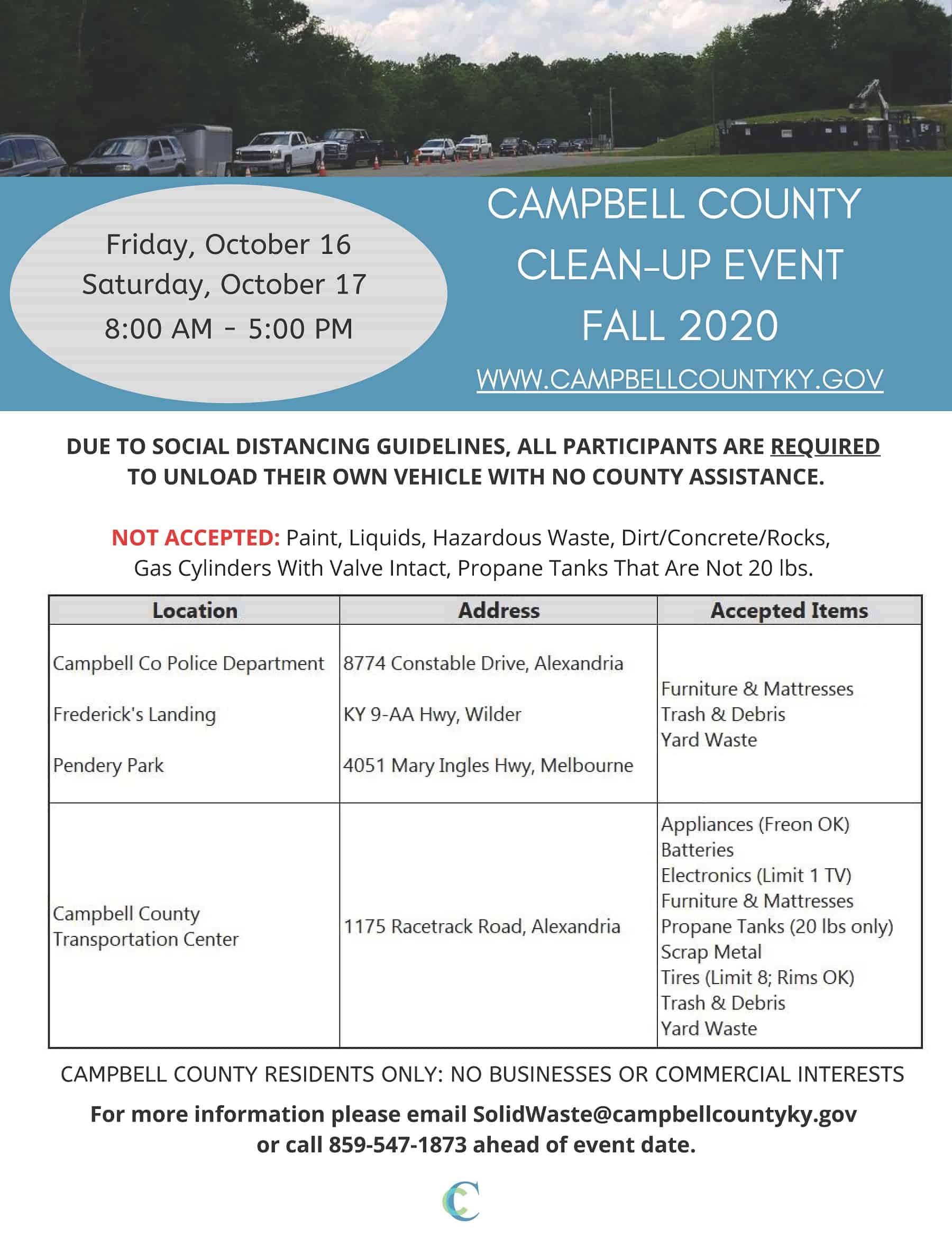 Campbell County Clean Up Event