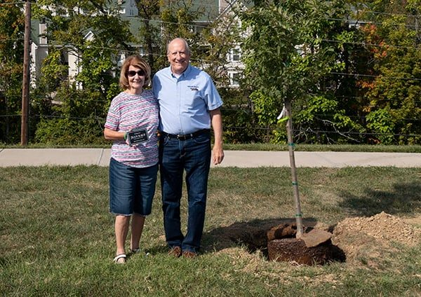 Highland Heights had its first Arbor Day on its way to becoming Tree City.