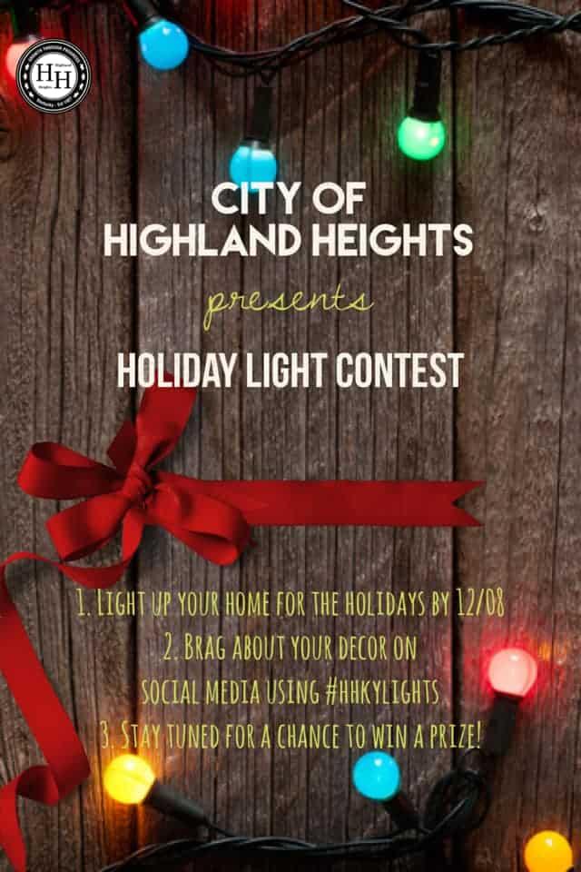 Holiday Lighting Contest - December 8