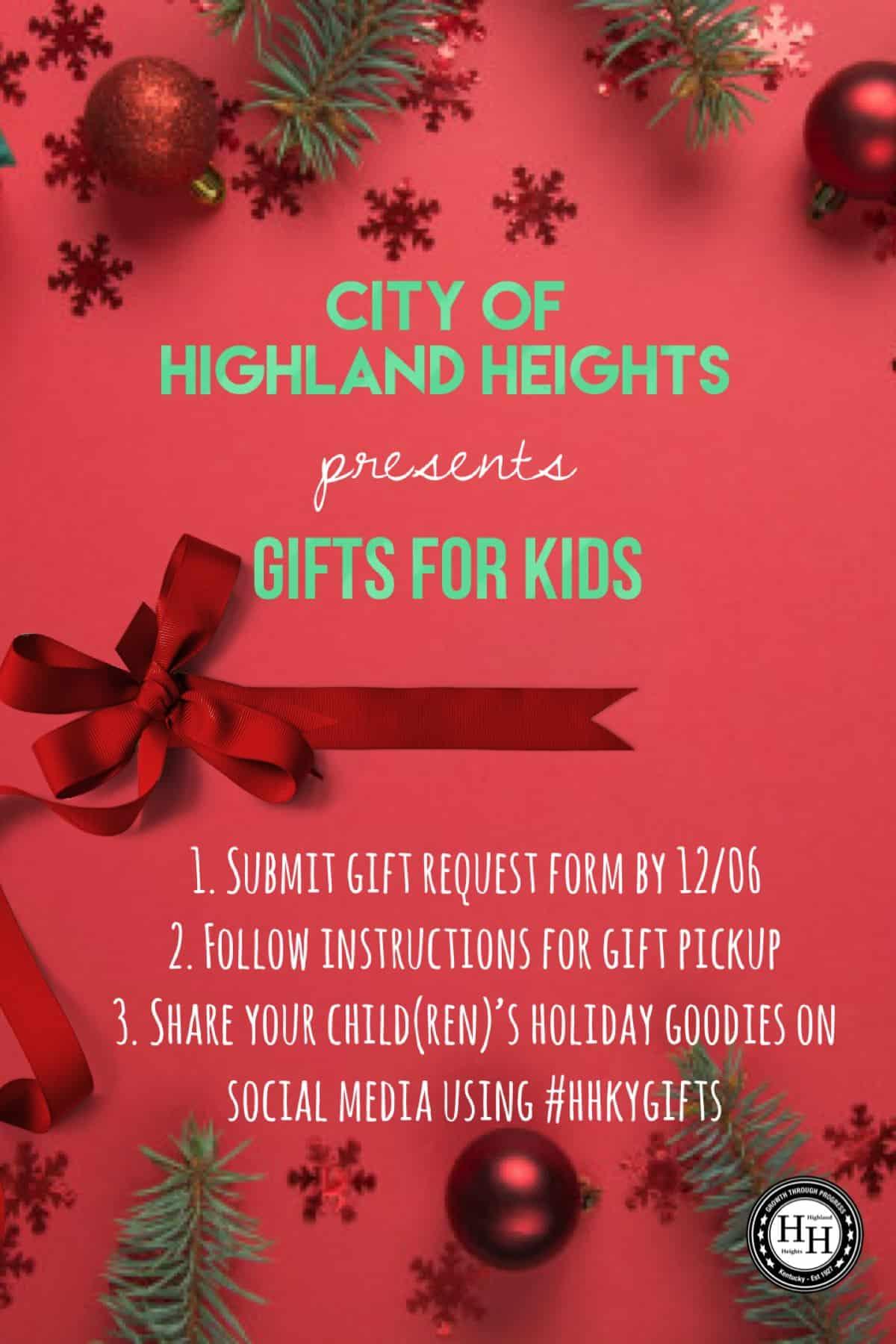 Gifts for Kids - December 12