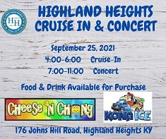 Cruise-In and Concert - September 25th